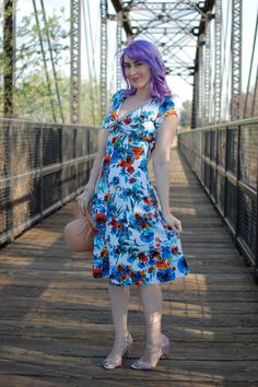 In the Spring of Things Dress in Floral | Mod Retro Vintage Dresses | ModCloth.com