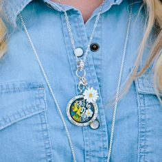 Origami Owl Spring Collection 2017 | Origami Owl Easter Collection | Daisy Jewelry | Origami Owl Ideas | Origami Owl Locket Ideas | Locket Jewelry | Personalized Jewelry | Email kristy@foreversparkly.com for a free gift!