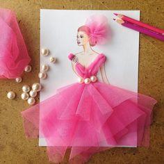 69 Ideas Fashion Art Creative Flower Dresses For 2019 Fashion Illustration Dresses, Fashion Illustrations, Dress Card, Fashion Design Drawings, Dress Sketches, Flower Dresses, Designs To Draw, Creative Art, Flower Art