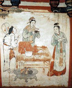 PREPARING TEA – LIAO DYNASTY  遼國