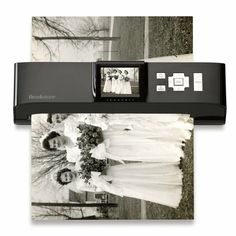 iConvert® Photo Scanner  Converts photos to digital files in seconds—no computer needed!