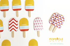 Popsicle Match game