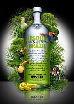 Absolut Vodka Brazil Advertising Campaign