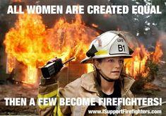 Women Fire Fighters