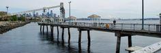 Elliott Bay public fishing pier in #Seattle