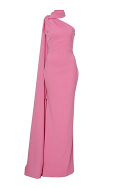 One Shoulder Gown by Brandon Maxwell | Moda Operandi