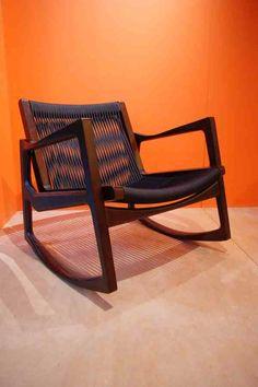Euvira rocking chair by Jader Almeida at May Design London 2013