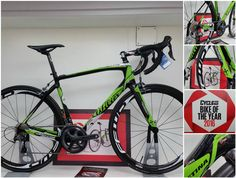 Voted and winner of bike of the year and available here at Team cycles, the superb #Wilier #GTR SL, read the reviews, a true super bike for sensible money. #BikeOfTheYear #cycling #biking
