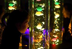 Snoezelen Rooms - not speech but cool idea to work with the sensory motor issues