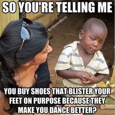 So you're telling me meme - Ballet humor #mymeme #dancerproblems #dancerprobz