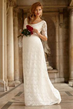 ... Robe de mariée enceinte, Robes de mariée et Magnifiques robes de