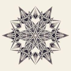 Mandala design by Manriquexx Dot Tattoos, Head Tattoos, Dot Work Tattoo, Geometric Mandala, Geometric Designs, Mandala Art, Mandela Tattoo, Tattoo Cover, Half Sleeve Tattoos Designs