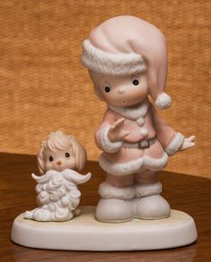Precious Moments Wishing You A Ho Ho Ho Christmas Figurine 527629 by RebornToAdorn on Etsy