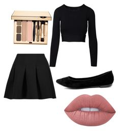 """""""To @gaby-mil"""" by diva766 ❤ liked on Polyvore featuring T By Alexander Wang, Breckelle's and Lime Crime"""