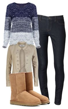 """""""Elena Gilbert Inspired Outfit"""" by mytvdstyle ❤ liked on Polyvore featuring Calvin Klein, ONLY, UGG Australia, women's clothing, women's fashion, women, female, woman, misses and juniors"""