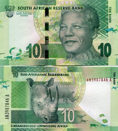 SOUTH AFRICA 10 RANDS 2012 P-133 UNC | eBay