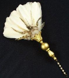 feather fans for weddings | feather fan