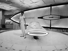 Ford Gyron Concept Car, 1961.