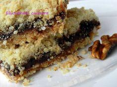 Prăjitură cu gem și nucă - rețetă de post, poza 2 Banana Bread, Sausage, Vegetarian Recipes, Recipies, Tasty, Vegan, Desserts, Gem, Food