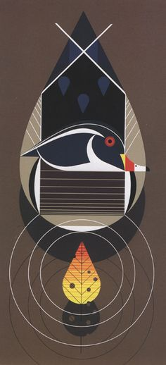 @PinFantasy - World renown local artist, Charley Harper ~~ For more:  - ✯ http://www.pinterest.com/PinFantasy/arte-~-arte-abstracto/