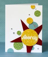 Hi everyone! It's Jennifer, with another installment of my Tips & Tricks. Today I want to share a video showing three creative ways to use the Studio Calico Hooray stamp set... Supplies: ST509 Hooray set, Memoir 6x6 Pad, Autumn Press 6x6 Pad, Classic Calico fabRips, Classic White Mister Huey's, Versamark,...