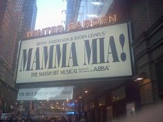 Saw the musical in Chicago twice, spent most of the time standing and singing like everyone else in the audience!