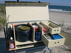 DIY camp chuck box