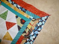 So Sarah Sews: How to make a Mitered Border tutorial