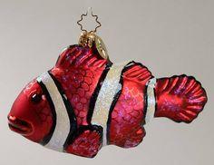 Christopher Radko2004 Christopher Radko Ornaments at Replacements, Ltd.: Glistening Tropical Fish