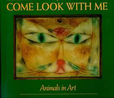 """Sonlight art.  """"Full-page, full-color reprints of famous paintings are accompanied by brief historical and biographical commentaries about the paintings and artists. Third book of the Come Look With Me Series. Perfect for elementary-aged children, Animals in Art pairs quality art reproductions with thought-provoking questions and encourages children to learn through visual exploration and interaction. A great menagerie of animals is represented here for all tastes, from the mysterious…"""