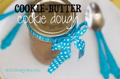 paleo cookie butter cookie dough recipe