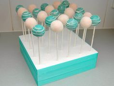 Tiffany Blue and White Square Display | Flickr - Photo Sharing!