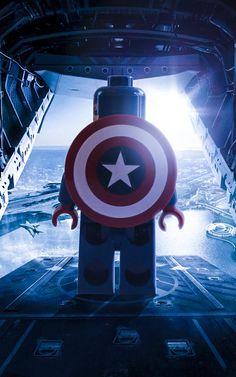 Captain America HD Wallpaper For Android Lego Deadpool, Lego Hulk, Lego Batman Wallpaper, Avengers Wallpaper, Marvel Legends, Lego Ghost Rider, Capitan America Lego, Lego Zelda, Captain America