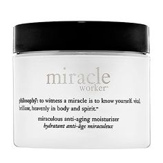 Philosophy Miracle WorkerTM Miraculous AntiAging Moisturizer 4 oz ** See this great product.