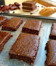 No bake chocolate energy bars