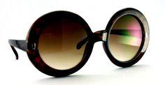 Ashley's Super Big Round Vintage Sunglasses $15