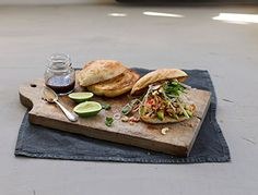 Bakers Delight Recipes - Chilli Ginger Chicken Salad Roll - Created by: Simone -http://www.mummyslittledreams.com