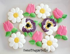 Potted Flower Cookies With a Snowman Cutter – The Sweet Adventures of  Sugar Belle