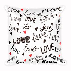 Cute Love Cushion, Animal Pillow, Home Decor, inch by CozyDesignCo on Etsy