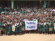 The Water Challenge through The Water Project.  Get clean water to people.  Great classroom challenge and a way to make a HUGE difference in the world.
