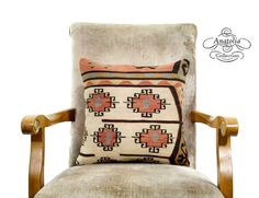 NOMAD Rustic Decor 16 Pillow Tribal Turkish by AnatoliaCollection