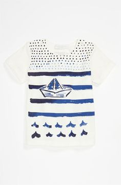 Burberry 'Mini Bato' T-Shirt (Infant) available at #Nordstrom