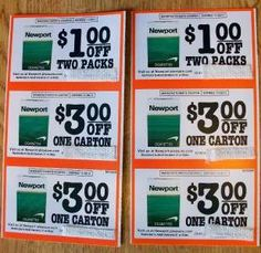 image relating to Newports Coupons Printable named newport cigarettes