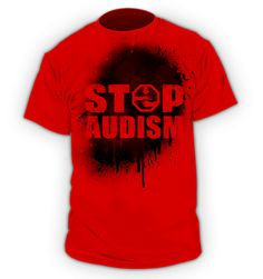 Audism - the act of discriminating against someone because they cannot hear.  It is just as bad as racism or sexism.