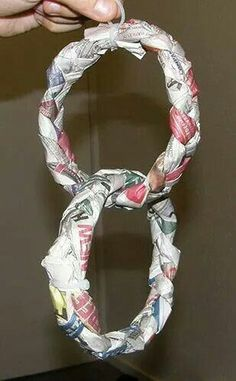 Newspaper toy