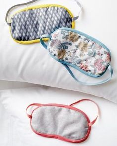 How to Sew a Simple Sleep Mask for a Better Night's Rest