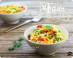 Billa ist Fachfrau für tolle Fotos von tollen Gerichten - auch diese Woche begeistert mich ihr Beitrag: Gemüsecurry mit Zitronenreis