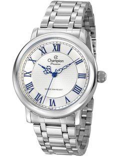 36e83aa1198 Relógio Champion Passion Feminino Prata CN29936Q