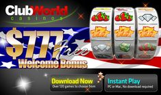Tue 31 December 2013 to Tue 31 December 2013 End 2013 With A Bonus And Begin 2014 With Cash Back!  As 2013 comes to an end we would like to give you some extra chances to start 2014 as a Club World Winner! http://clubworldcasinos.blogspot.com