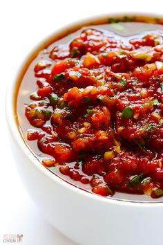 Restaurant-Style Salsa Recipe | gimmesomeoven.com